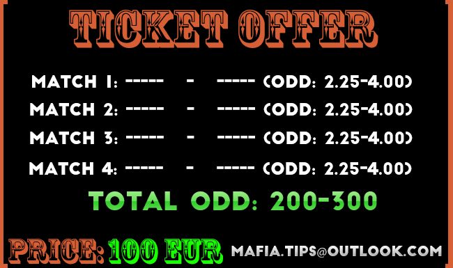 mafia tips ticket offer